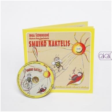 """Dainų knygelė su CD """"Smuiko raktelis"""""""