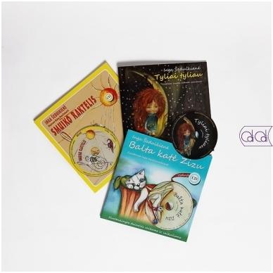 Dainų knygelių rinkinys su CD 2