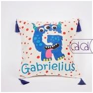 """Dekoratyvinė pagalvėlė """"Monstriukas Gigi"""""""
