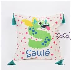 """Dekoratyvinė pagalvėlė """"Monstriukas Solia"""""""