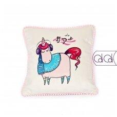 """Dekoratyvinė pagalvėlė """"Vienaragis Do"""""""