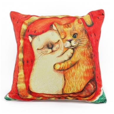 """Dekoratyvinė pagalvėlė """"Ar mylėsi tu mane"""""""