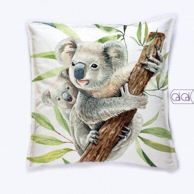 """Dekoratyvinė pagalvėlė """"Koalos"""""""