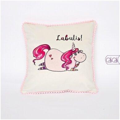 """Dekoratyvinė pagalvėlė """"Labutis"""""""