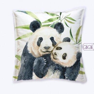 """Dekoratyvinė pagalvėlė """"Pandos"""""""