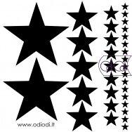 """Lipdukų rinkinys """"Žvaigždės"""""""