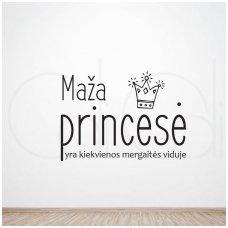 """Lipdukas mergaitės kambariui """"Maža princesė"""""""