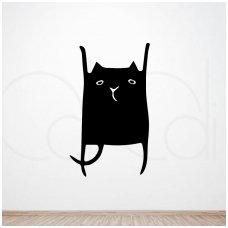 """Lipdukas ant sienos """"Draugas Katinas"""""""