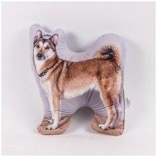 """Personalizuota pagalvėlė """"Mano augintinis - šuo"""""""
