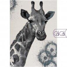 """Stačiakampis kilimas vaikų kambariui """"Žirafa"""""""
