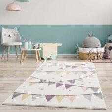 """Stačiakampis kilimas vaikų kambariui """"Šventė"""""""