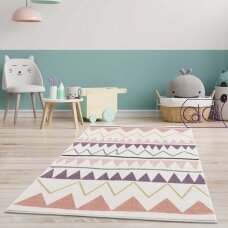 """Stačiakampis kilimas vaikų kambariui """"Boho"""""""