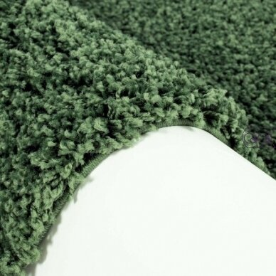 """Stačiakampis kilimas vaikų kambariui """"Žalias"""" 2"""
