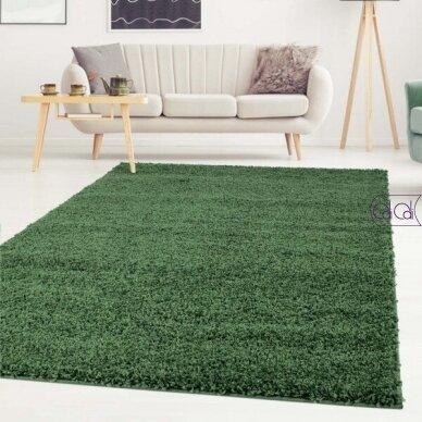 """Stačiakampis kilimas vaikų kambariui """"Žalias"""" 3"""