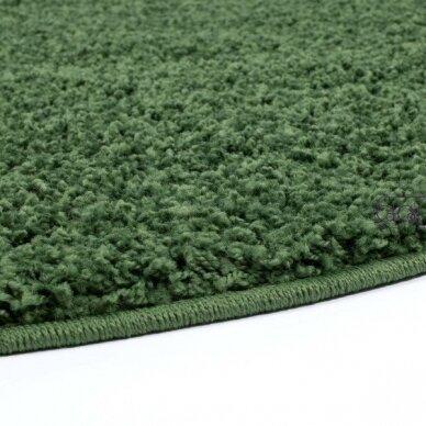 """Stačiakampis kilimas vaikų kambariui """"Žalias"""" 4"""