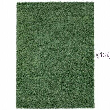"""Stačiakampis kilimas vaikų kambariui """"Žalias"""""""