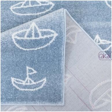 """Stačiakampis kilimas vaikų kambariui """"Laiveliai"""" 5"""