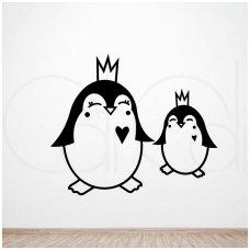 """Vaikiškas sienos lipdukas """"Šiauriečiai pingvinai"""""""